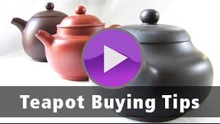 Teapot Buying Tips