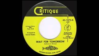 Barracuda's - Wait For Tomorrow (1968)