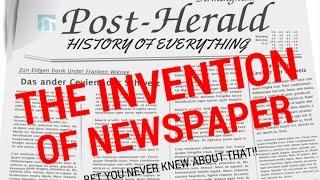 Why is a newspaper called a newspaper