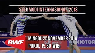 Jadwal Pertandingan Final Syed Modi Internasional 2018, Minggu Pukul 15.30 WIB