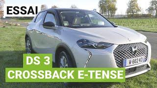 Essai de la DS 3 Crossback E-Tense sur autoroutes et bornes Ionity