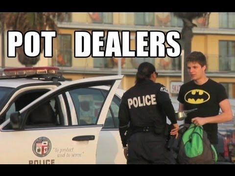 Public Prank - Pot Dealers