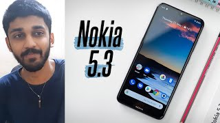 Best Budget Phone With Stock Android? | Nokia 5.3 | TECHBYTES