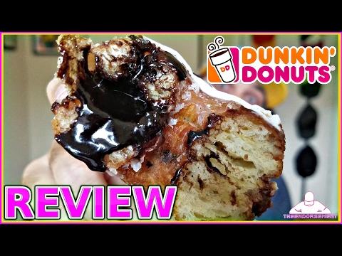 DUNKIN' DONUTS® | FUDGE CROISSANT DONUT REVIEW  | CRONUT
