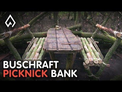 BUSHCRAFT: Een picknick tafel maken -- Dutch Outdoor Group