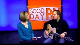 "Jordan White performs ""Maybe, Amy"" on ABC's Good Day PA"