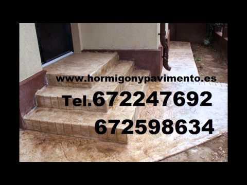 Hormigon Impreso YÉCORA/IEKORA Tel.672247692 Álava - Araba