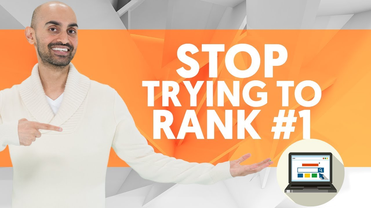 STOP Trying to Rank #1 For Keywords on Google