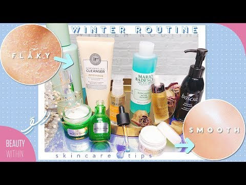 ❄️Winter Skin Care Routine for Clear Skin: Dry, Sensitive & Oily Skin Types ❄️