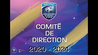 Présentation du Comité Directeur 2020/2024