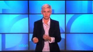 Ellen's Monologue - Cat Communication (2010-11-17)
