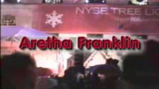 Aretha Franklin Christmas song, Silent Night Live