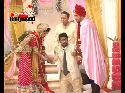 On Location Of TV Serial 'Main Naa Bhoolungi'  Shikha's Dupatta Burnt At Wedding With Aditya