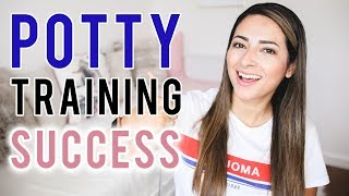 POTTY TRAINING A 3 YEAR OLD BOY | Our Potty Training Success Story | Ysis Lorenna
