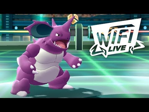 Pokemon Let's Go Pikachu & Eevee Wi-Fi Battle: Nidoking, The People's Champ! (1080p)