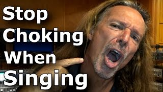 Open Throat Singing - How to Stop Choking When Singing - Ken Tamplin Vocal Academy