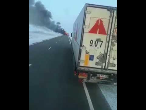 Καζακστάν: 52 νεκροί από φωτιά σε λεωφορείο (βίντεο)