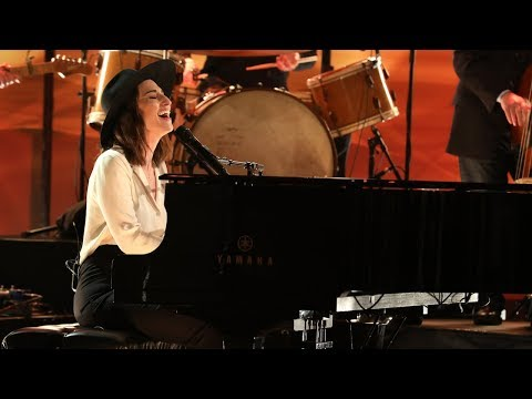 Sara Bareilles Lights Up The Stage With 'Fire' - TheEllenShow