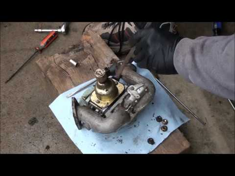 BRIGGS and STRATTON 18.5 hp V Twin OHV INTEK Engine CARBURETOR REBUILD. Lawnmower sat for 5 years!