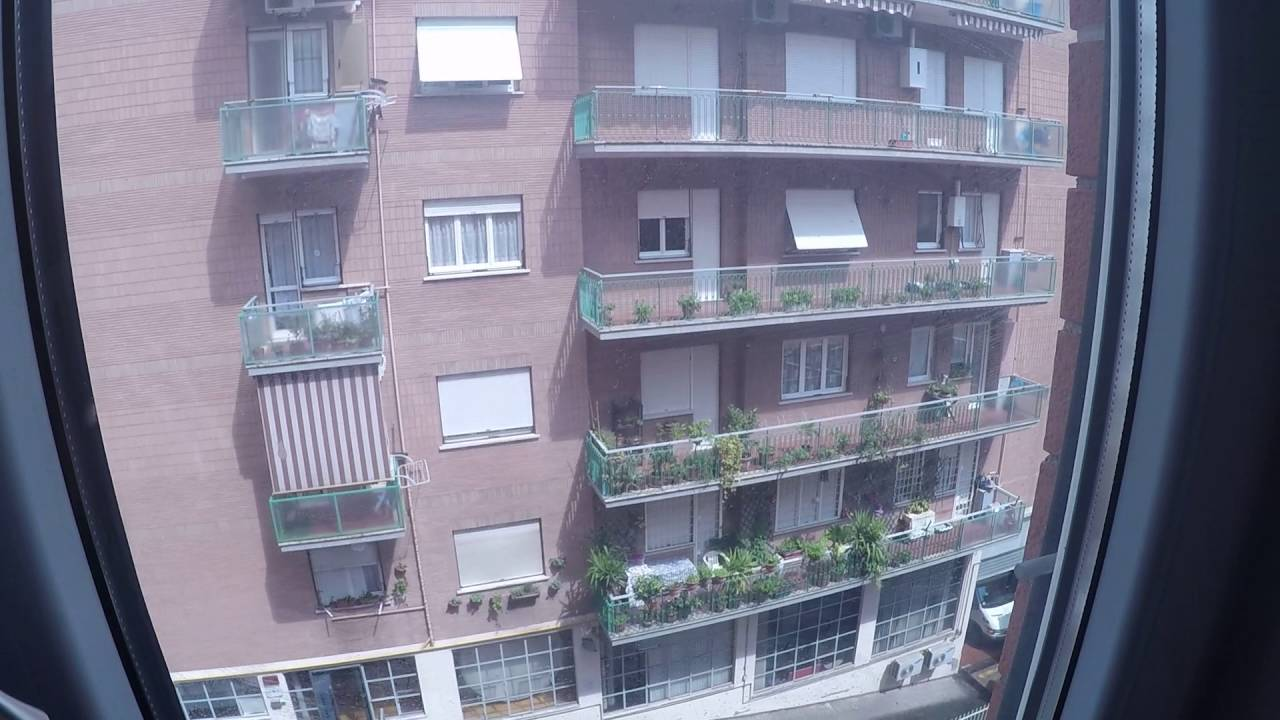 2 rooms for rent to workers in apartment with dryer and balcony in Tiburtina area