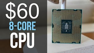 The $60 8 core CPU vs Ryzen 7!