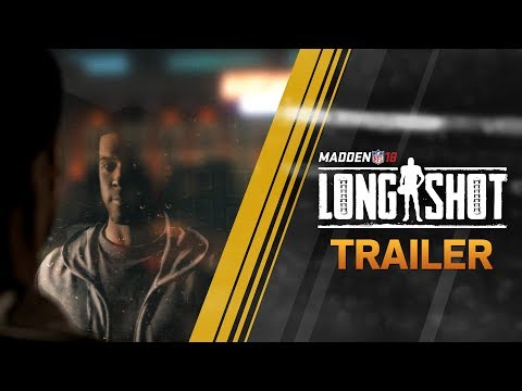 Madden 18 - Longshot - Official Reveal Trailer thumbnail