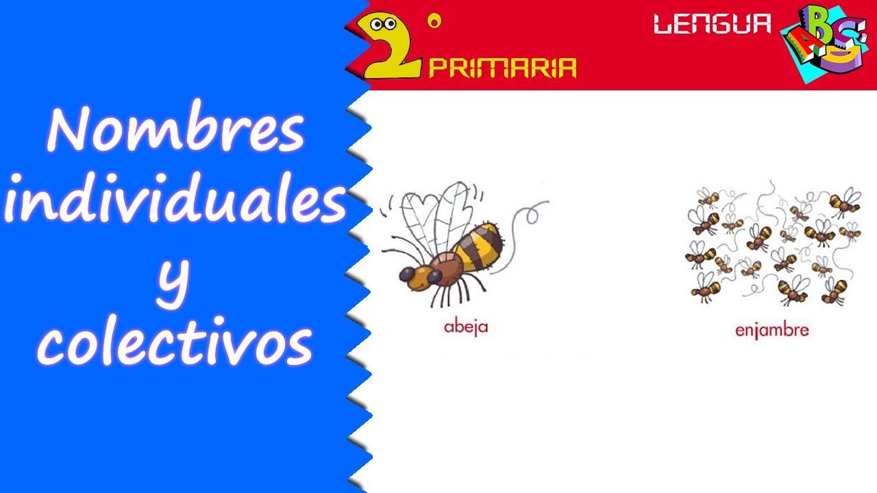 Lengua Castellana. 2º Primaria. Tema 3. Nombres individuales y colectivos
