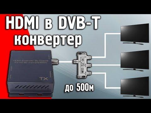 Модулятор цифрового сигнала из HDMI В DVB-T ASK HDEX0011M1