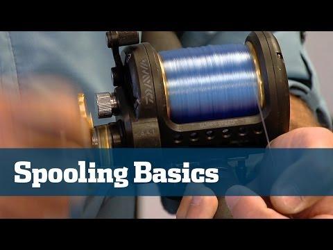 Fishing Reels; How To Spool Reels - Florida Sport Fishing TV