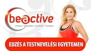 BEACTIVE LIVE TF - Edzés Cseresnyés Beáta Master Trainerrel