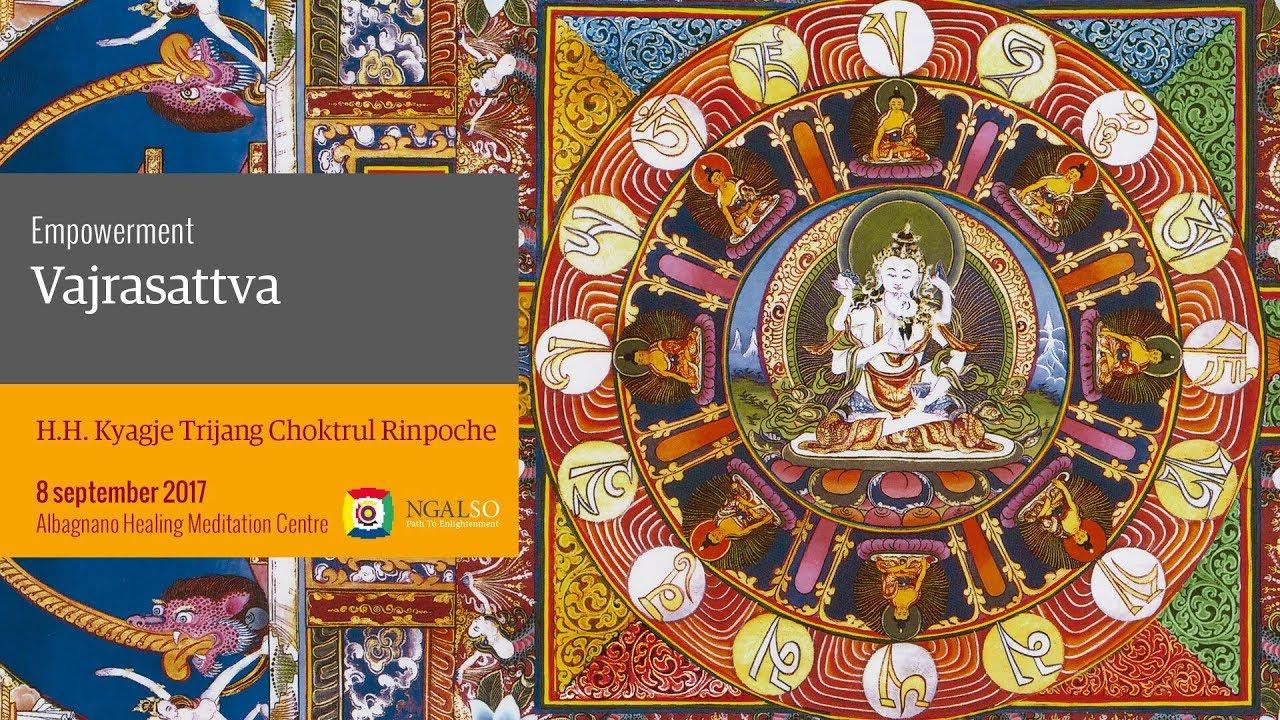 Vajrasattva Empowerment conferred by  H.H. Kyabje Choktrul Trijang Rinpoche