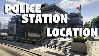 GTA 5: POLICE STATION LOCATION