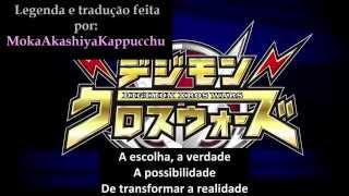 Digimon Xros Wars - Abertura 3 italiana com legendas em português