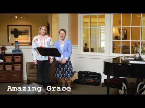 Highlights from a casual, voluntary recital at our local nursing home.