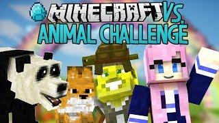 Animal Challenge | Modded Minecraft VS.