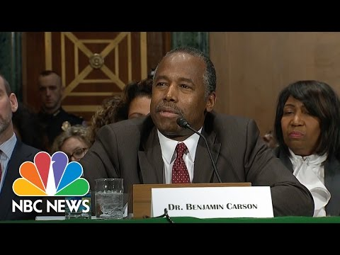 Ben Carson: Can't Assure Donald Trump Won't Benefit From HUD Money | NBC News