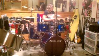 "Drum Cover of ""Pretty Vacant"" by Joan Jett - Shaina Mikee Keiths"
