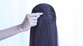 Puff Hairstyle For Gown And Lehnga || Cute Hairstyles || Hair Style Girl || Hairstyles For Girls