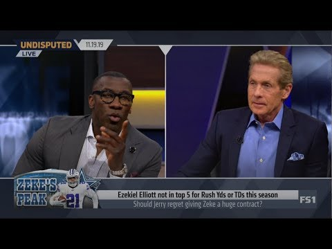 UNDISPUTED | Skip and Shannon DEBATE: Should Jerry regret giving Zeke a huge contract?