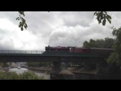 LMS Jubilee 45699 'Galatea' at York with 'The Scarborough Sp…