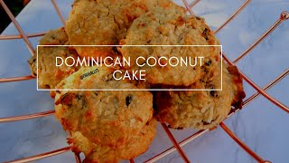 HOW TO MAKE DOMINICAN ROUGH CAKE | COCONUT CAKE| COCONUT BUNS | ROCK CAKE || FRUGALLYT