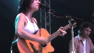 Ani Difranco performs Manhole@Bonnaroo