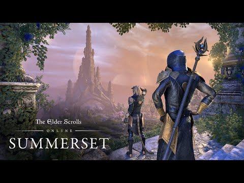 Trailer de lancement Summerset de The Elder Scrolls Online