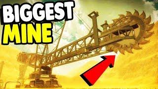 BIGGEST Mining Machine on EARTH | Giant Machines 2017 Gameplay