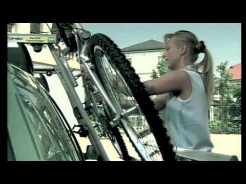 FISCHER dak lift fietsendrager voor 2 fietsen 4008153180927