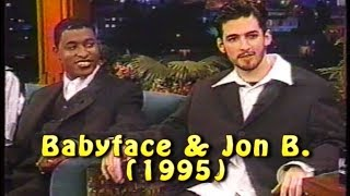 "Babyface & Jon B. Interview & Performs ""Someone To Love"" (1995)"