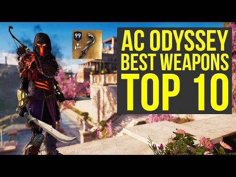 Assassin's Creed Odyssey Best Weapons - TOP 10 Best Legendary Items (AC Odyssey Best Weapons)