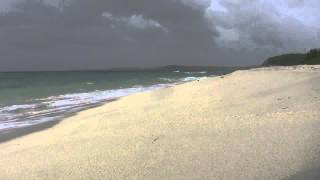 preview picture of video 'Anguilla - Meads Point Beach Waves'