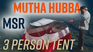 MSR Mutha Hubba - The packable three person tent