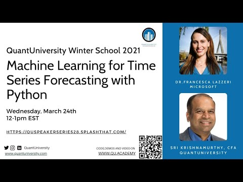 Machine Learning for Time Series Forecasting with Python Lecture
